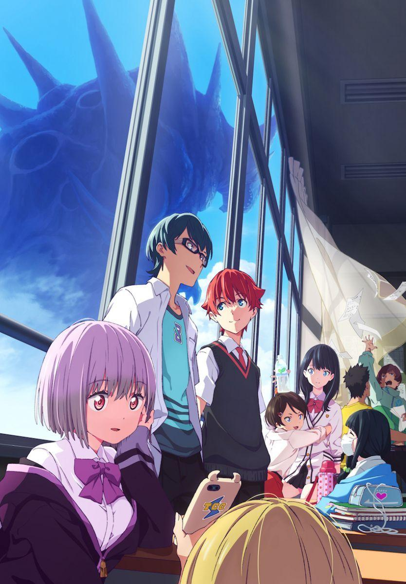 Characters from SSSS.Gridman anime