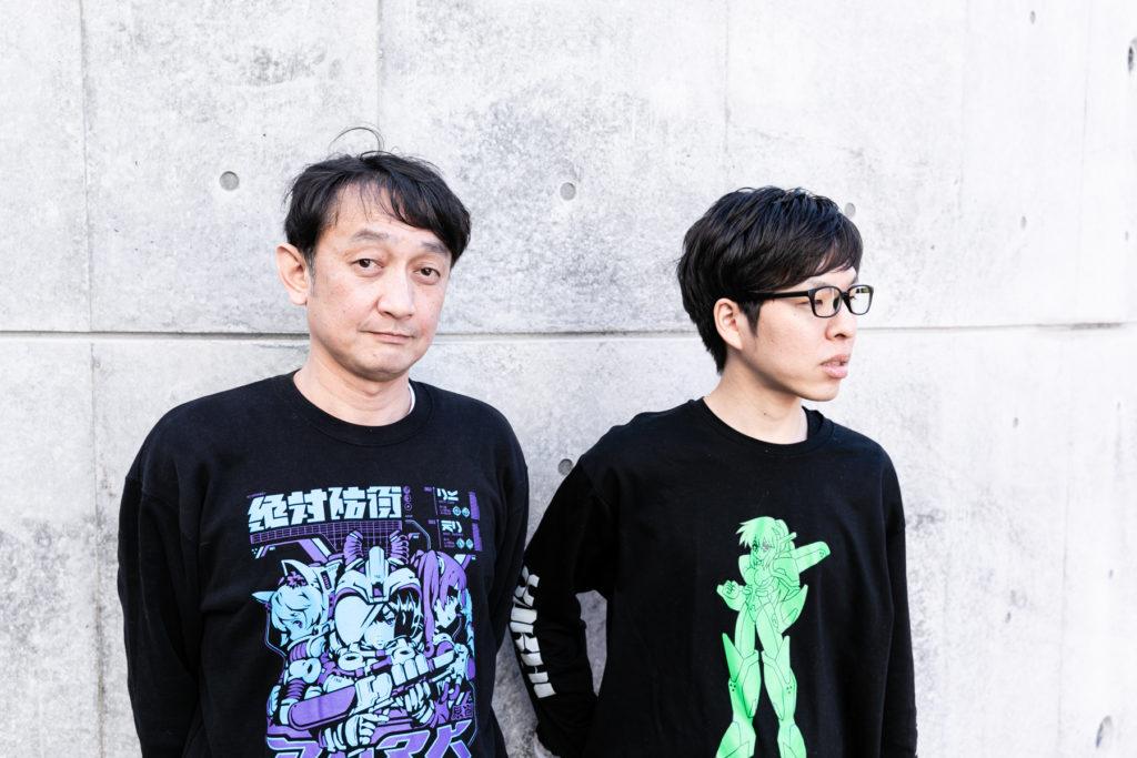 Jinichi Hidaka & Kazuki Kanayama of PARK Harajuku