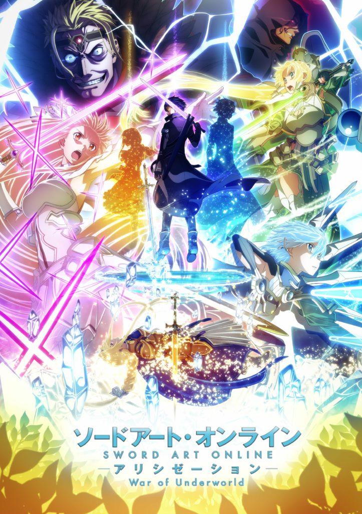 Sword Art Online Alicization - War of Underworld Key Art