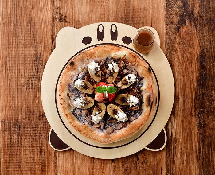 Kirby Dessert Pizza