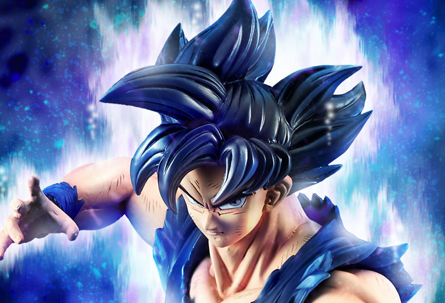 Large 45cm Dragon Ball: Super Goku P-Bandai Figure Announced, Available for Pre-Order