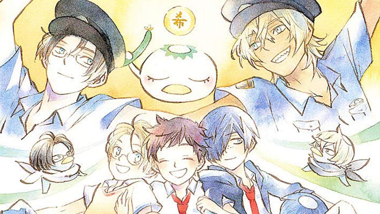 sarazanmai manga