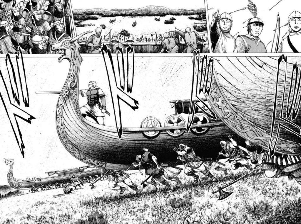 Vinland Saga Manga Art