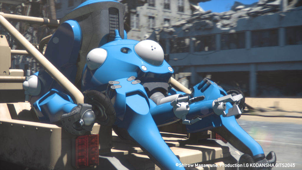 Ghost In The Shell: SAC_2045 Tachikoma