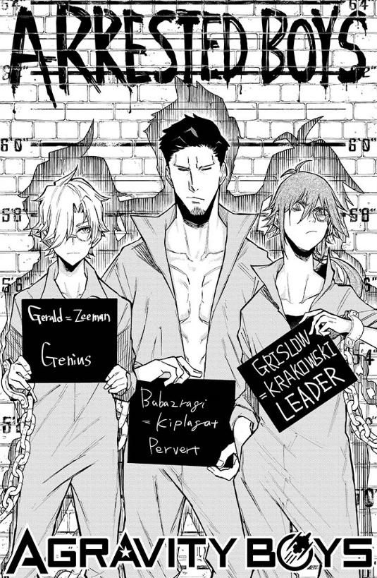 Agravity Boys Chapter 19 Gets Nicked - Your Manga Week #24