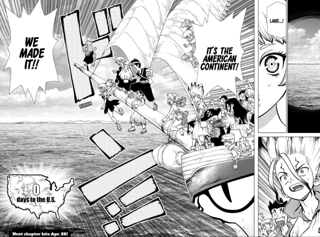 Dr. STONE chapter 147