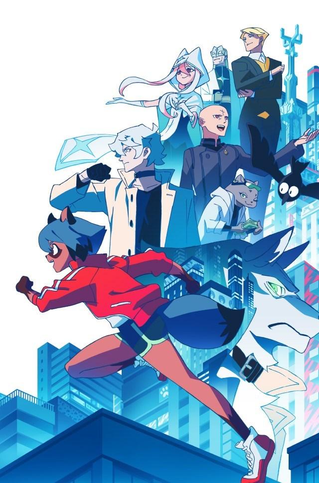 BNA: Brand New Animal anime poster