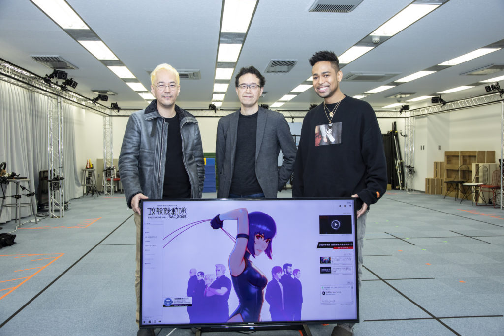 Kenji Kamiyama, Shinji Aramaki, & EXILE NESMITH