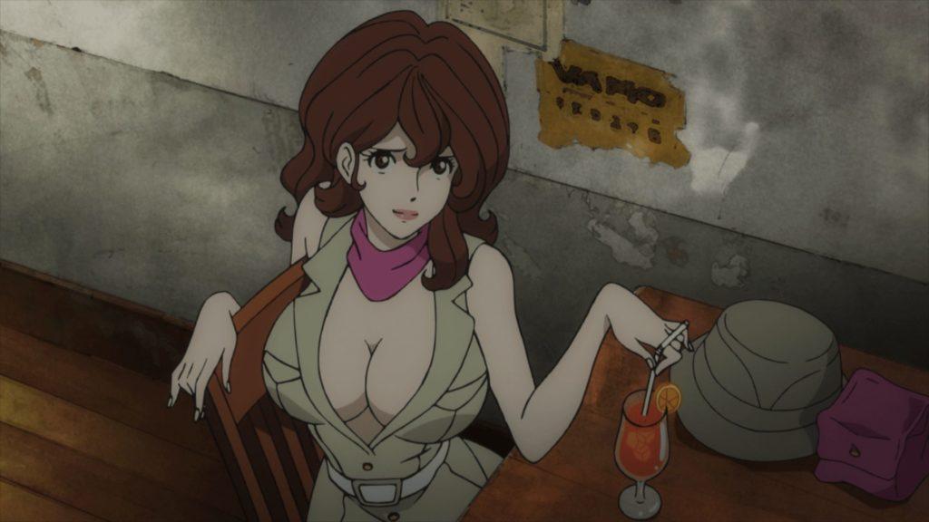 Fujiko Mine from Lupin