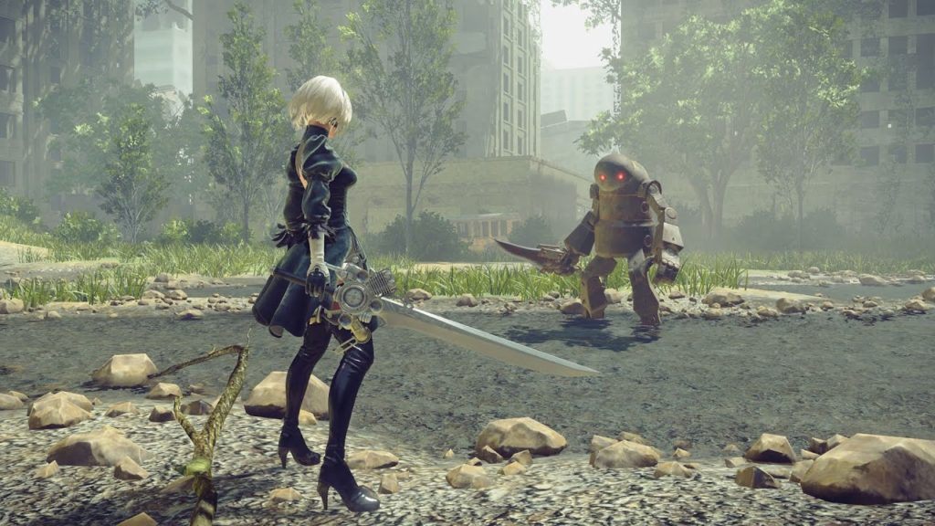Weight of the World – NieR Automata - A game with multiple endings
