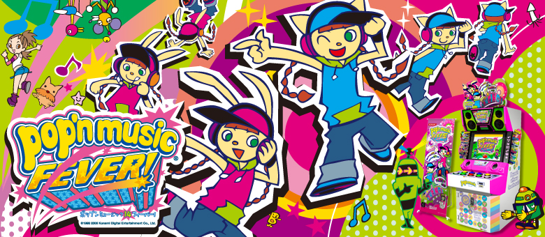 Pop'n Music: Playing Musical Whack-A-Mole With Your Hands
