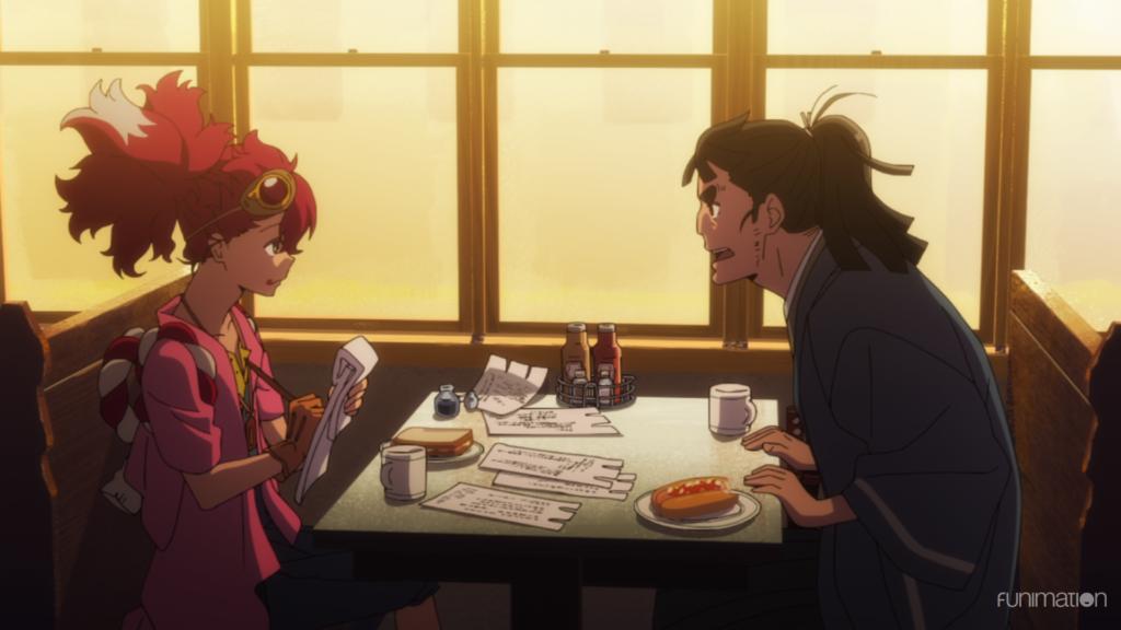 Appare-Ranman Episode 2 Review: Samurai In Diners