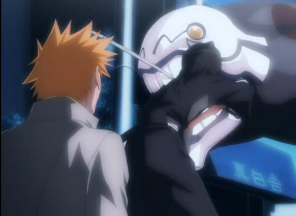 Rukia Saves Ichigo