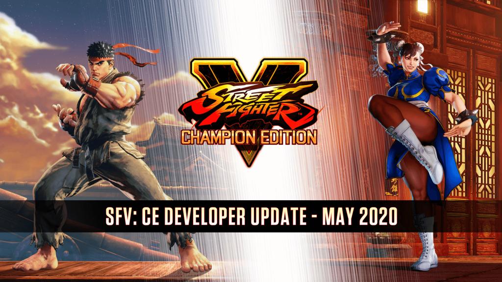 Street Fighter V Developer Update Header