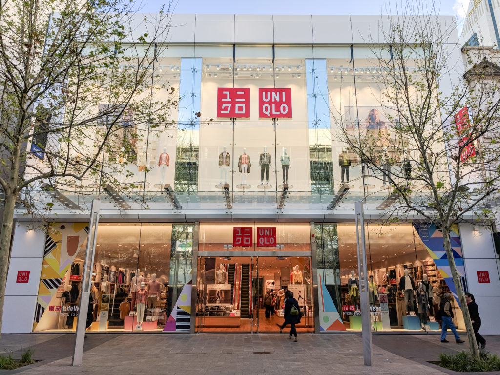 Uniqlo Specializes in Simple, yet Elegant Fashions from Japan