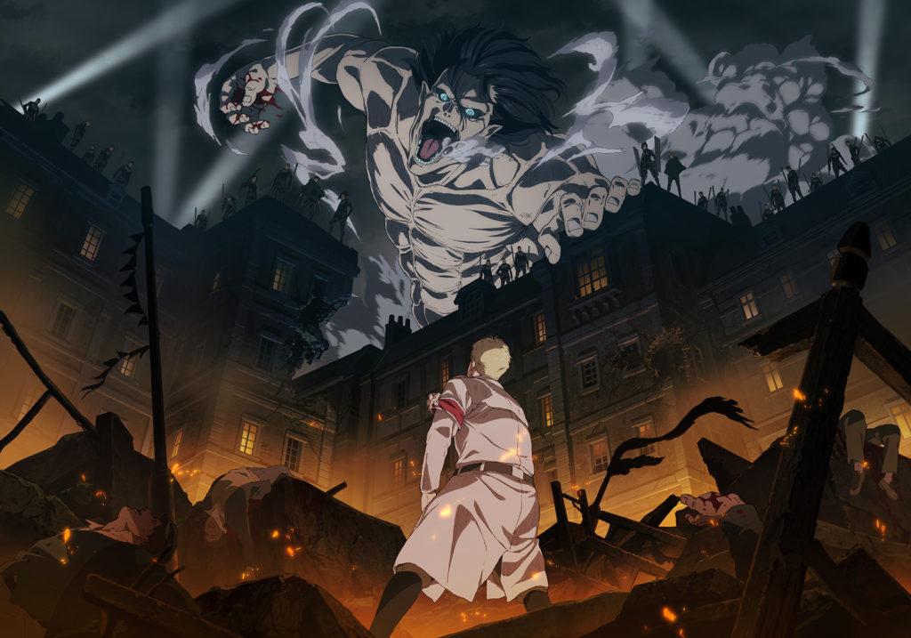 Attack on Titan: The Final Season key visual