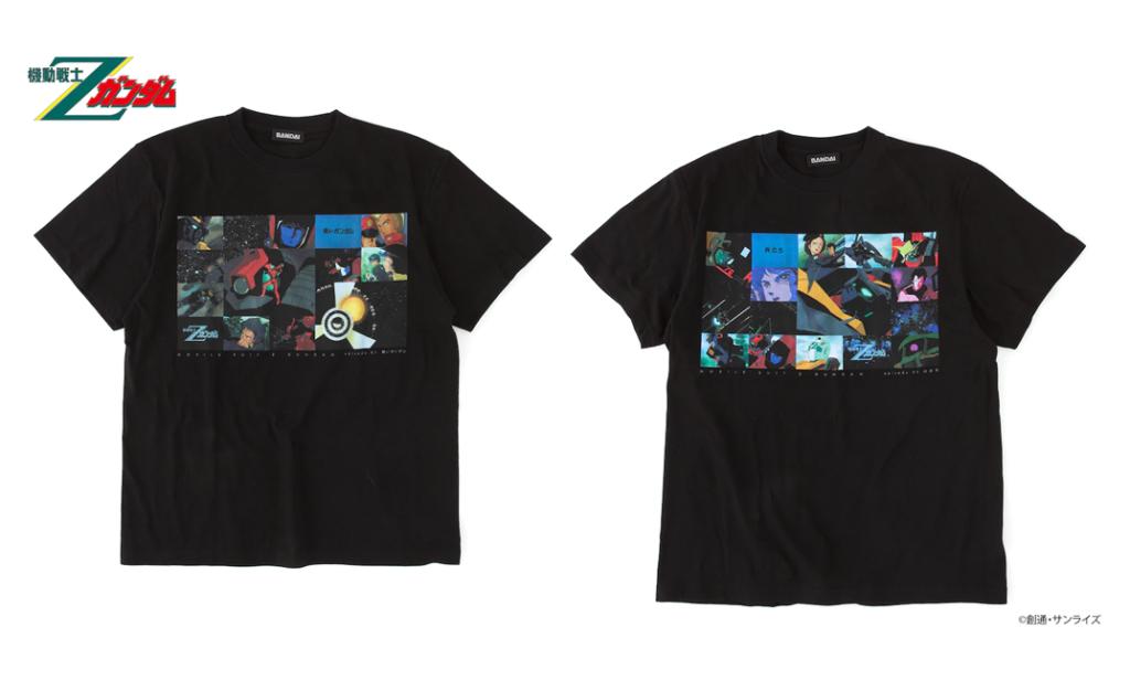 Zeta Gundam Shirts