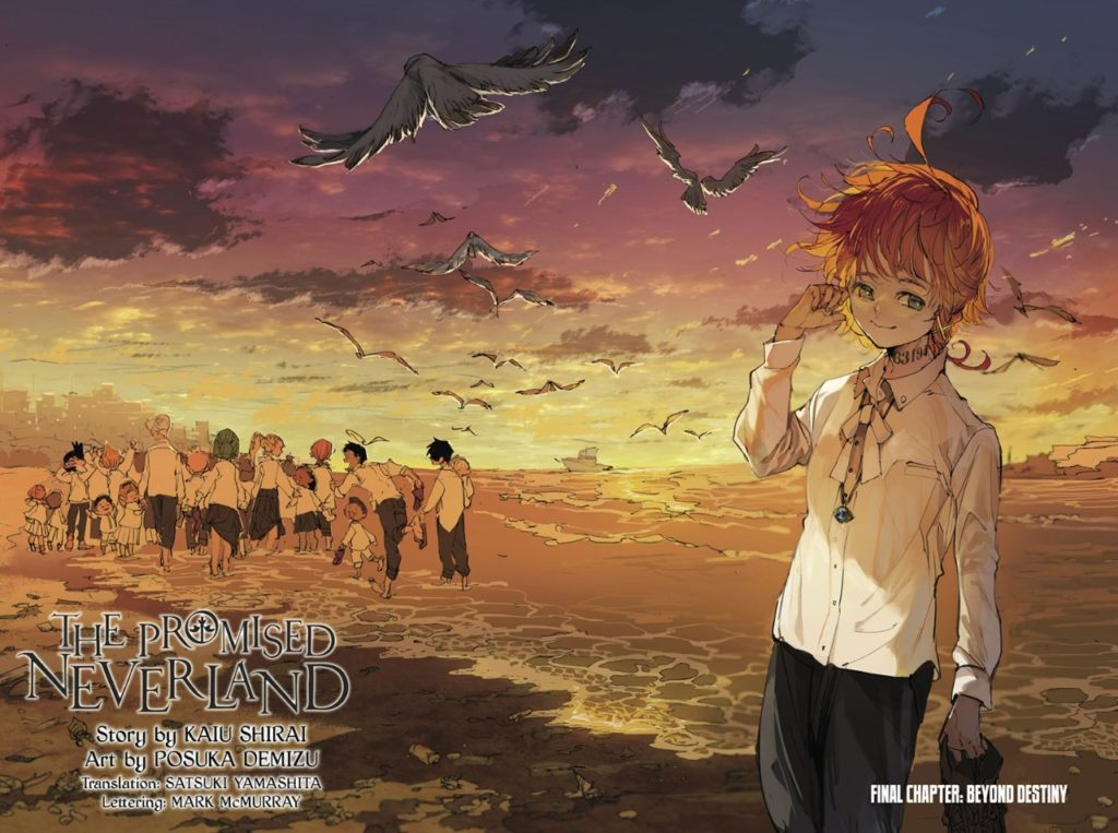 The Promised Neverland Final chapter illustration
