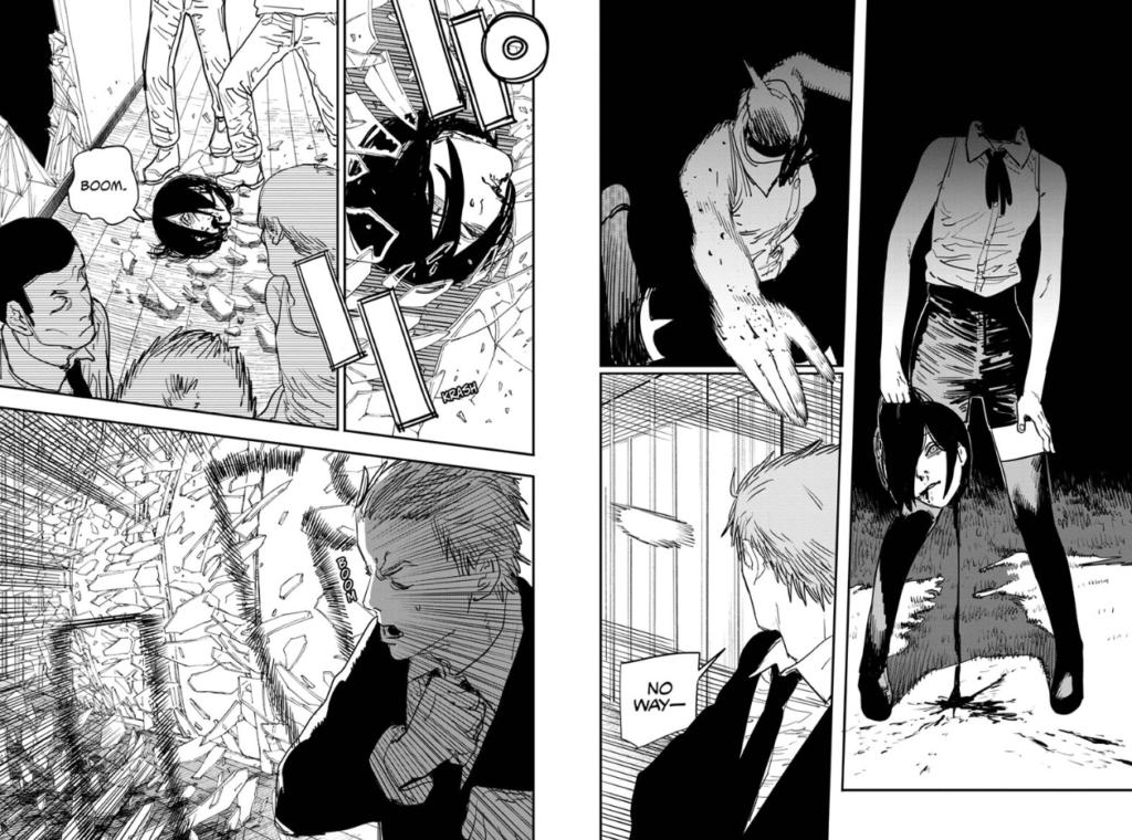 Bomb Girl arc Chainsaw Man