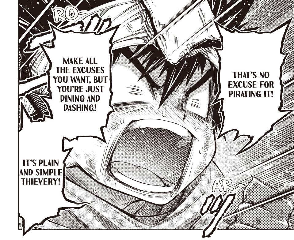 STOP! Kaizokuban manga