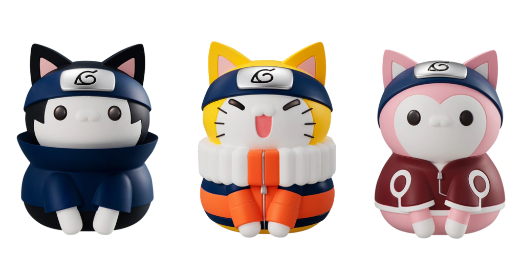Who Knew Naruto Soft Vinyl Cats Would Be So Adorable?
