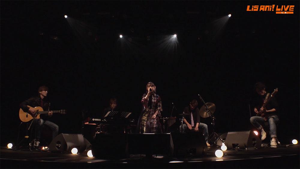 Yoshino Nanjo at LisAni! LIVE