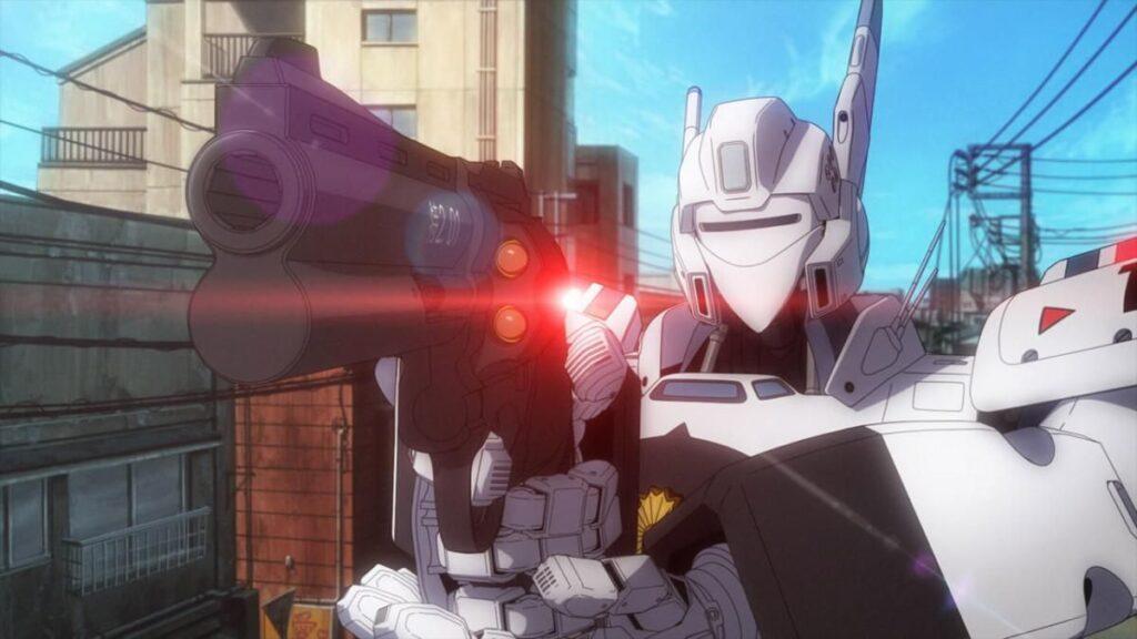 Patlabor anime movie screenshot
