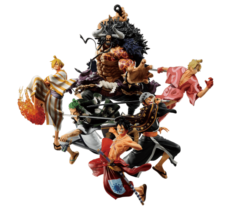 One Piece FULL FORCE figures