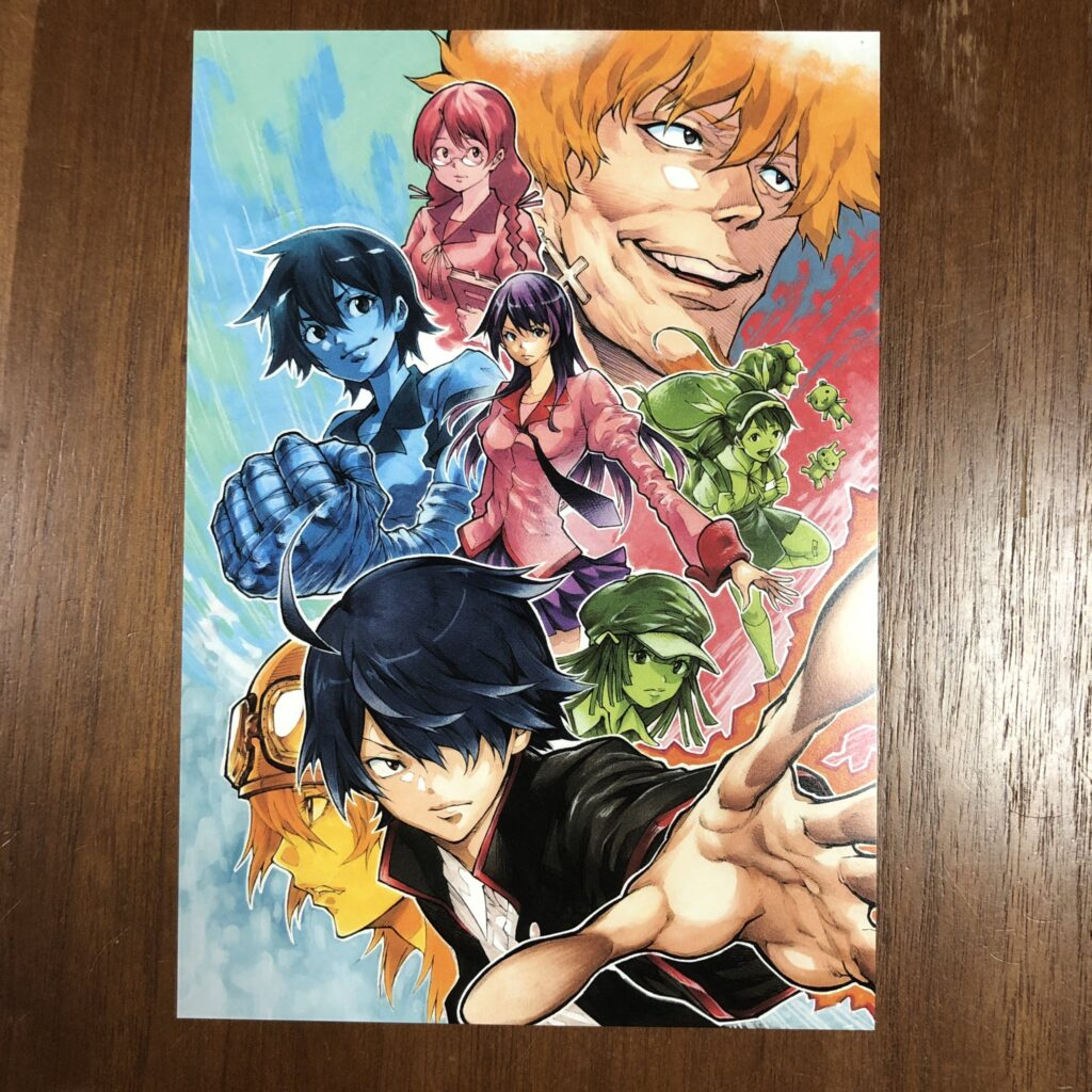 Akeji Fujimura illustration for Bakemonogatari illustration contest