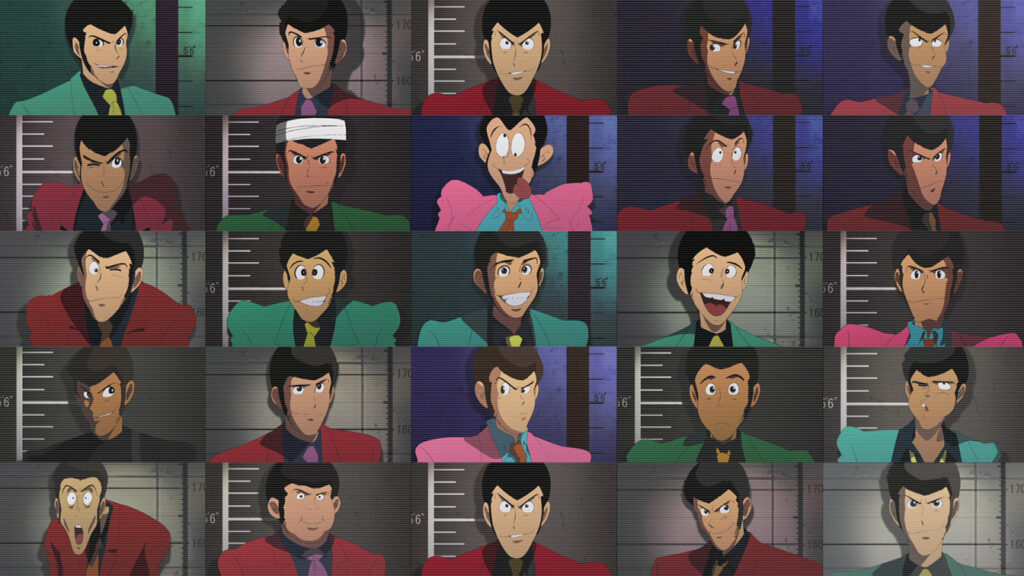Lupin III Main Character Visual