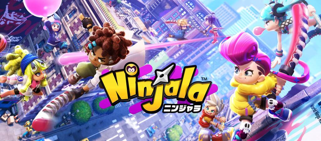 Ninjala Title Screen