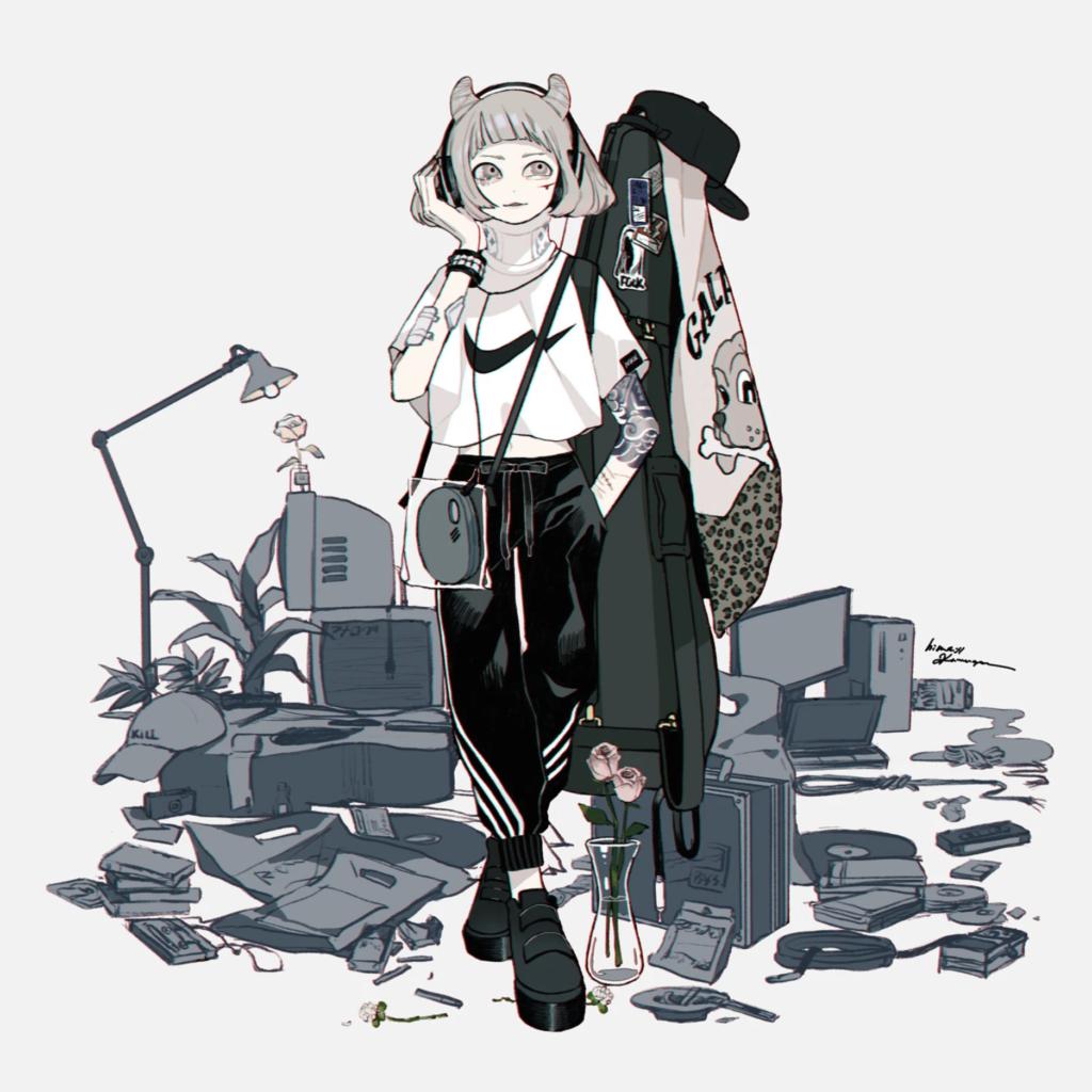 hima:// KAWAGOE Illustration