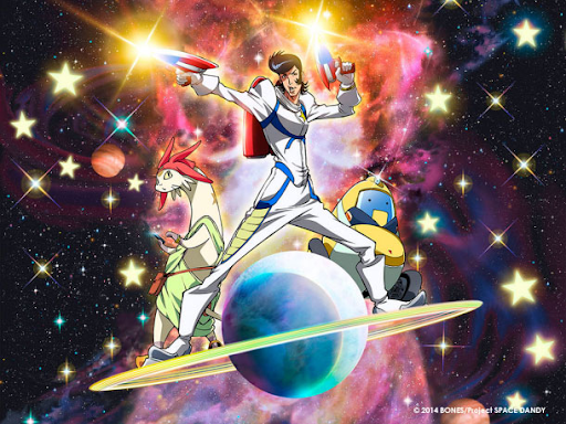 Space Dandy Title
