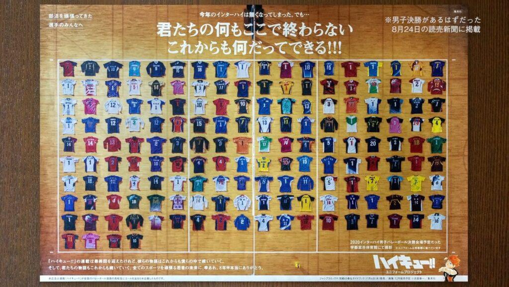 Haikyu!! Uniform Project