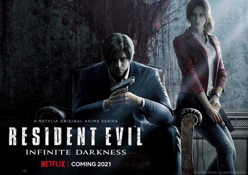 Brand new Resident Evil 3DCG Animated Series Resident Evil: Infinite Darkness Coming to Netflix