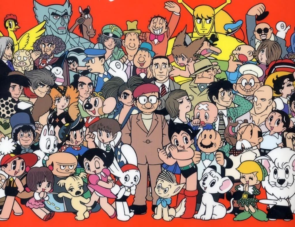 Osamu Tezuka characters