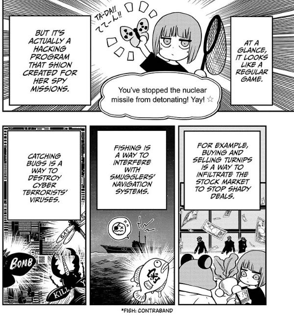 Mission: Yozakura Family chapter 51