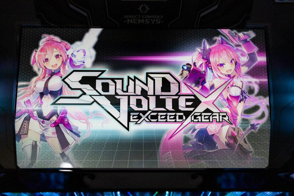 Sound Voltex Exceed Gear Logo