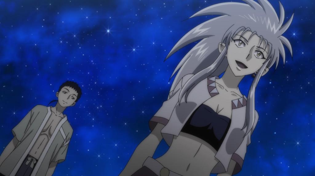 Tenchi and Ryoko