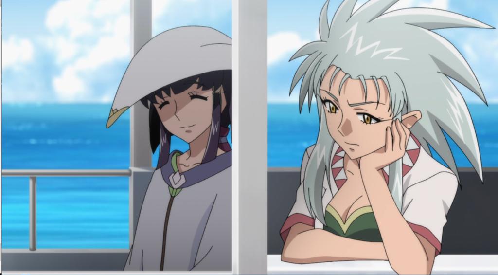 Ryoko and Ayeka
