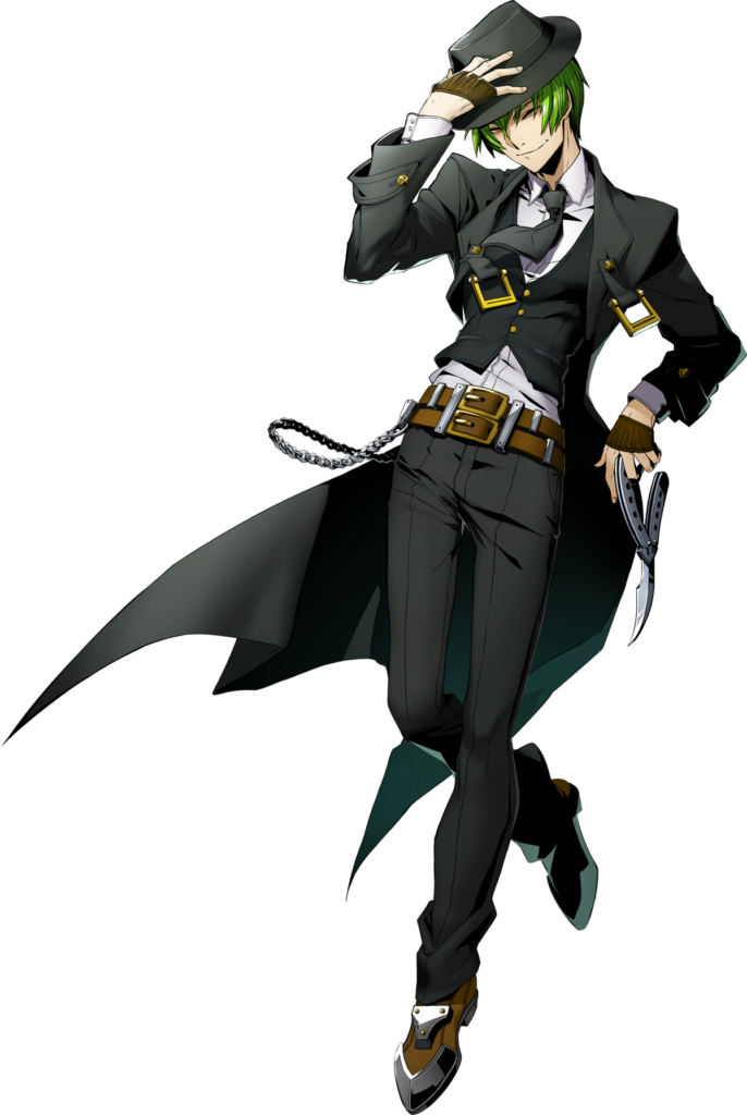 Hazama from BlazBlue