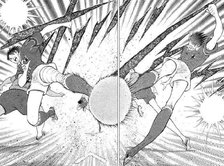 Captain Tsubasa manga page