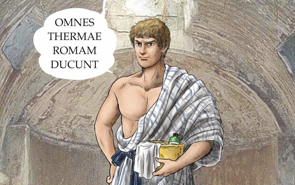 Thermae Romae Novae Brings Ancient Romans to Modern Japanese Bathhouses, Exclusively on Netflix