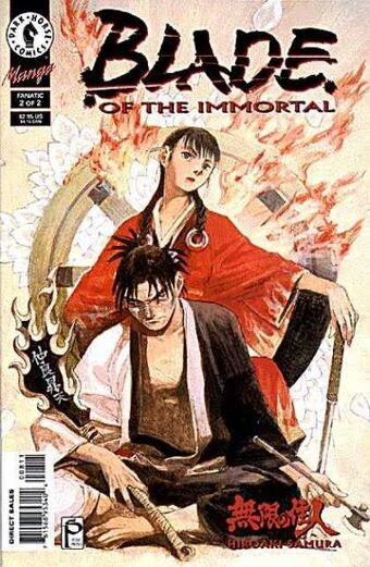 Blade of the Immortal Manga Cover