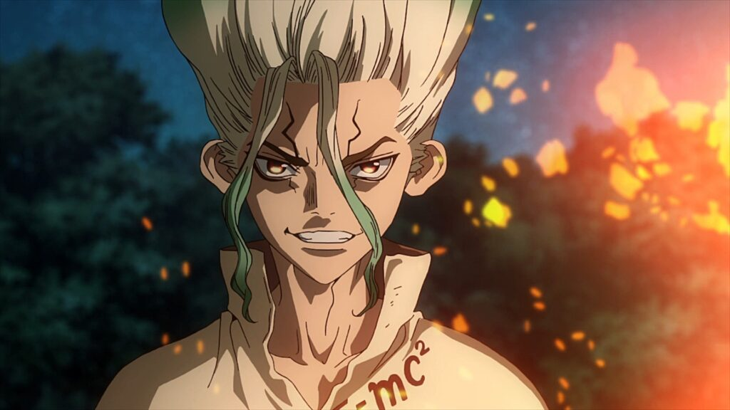 Dr.Stone: Rebuilt the civilization from Zero with mad scientist Senku