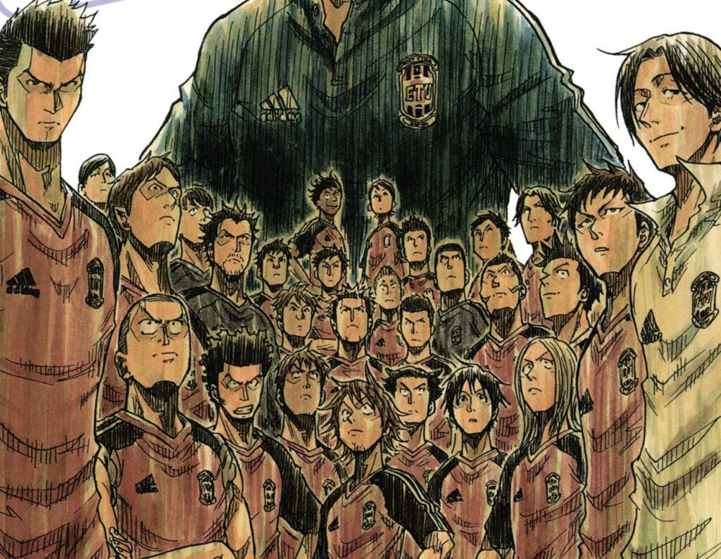 Giant Killing manga illustration
