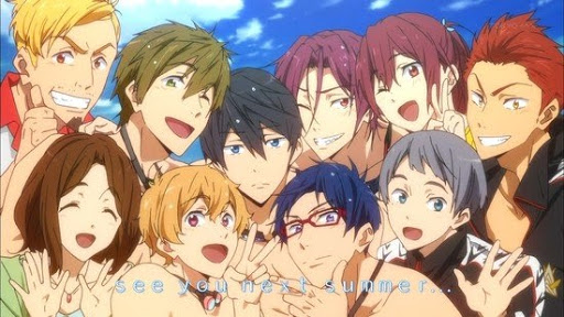 Free! Anime characters