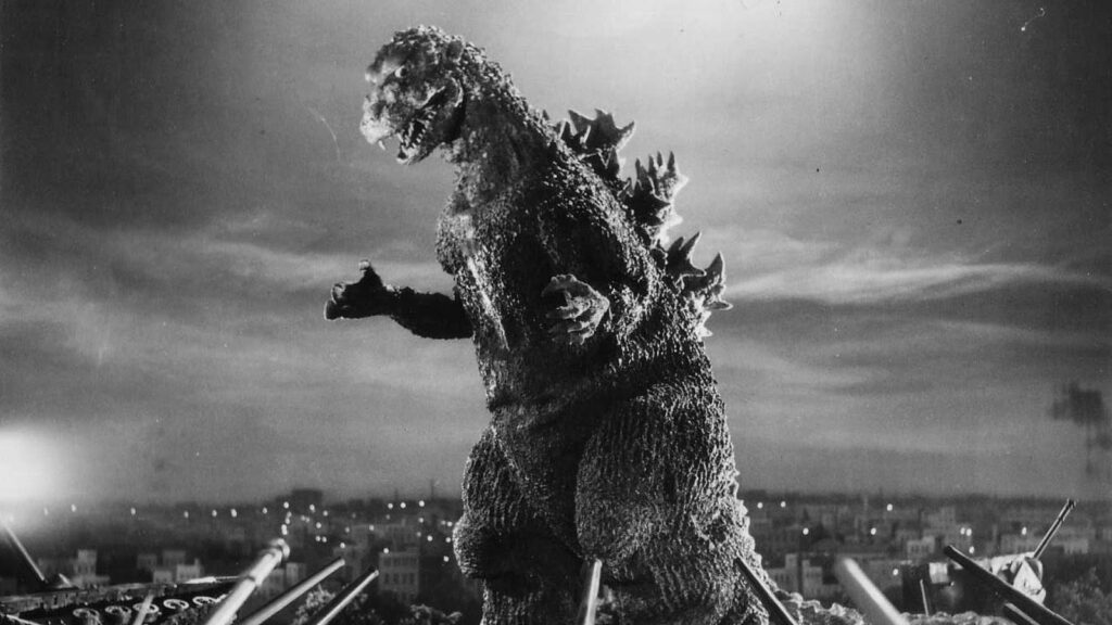 Godzilla movie screenshot