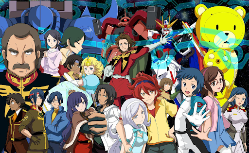 Gundam Build Fighters Anime characters