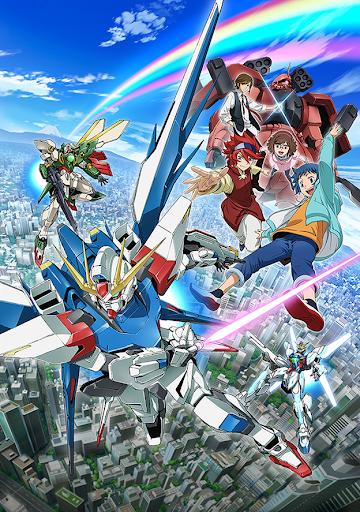 Gundam Build Fighters anime visual